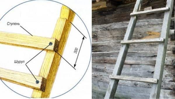 Как сделать чердачную лестницу 192